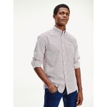 Regular Fit Poplin Microprint Shirt