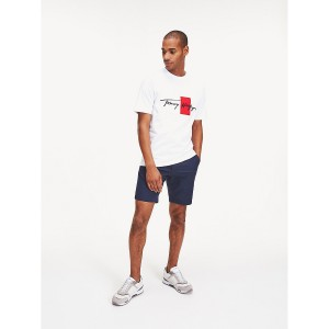 Relaxed Fit Organic Cotton Signature T-Shirt