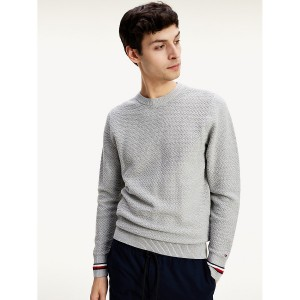 Organic Cotton Textured Sweater