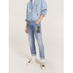 Crest Nautical Badge Regular Fit Jeans
