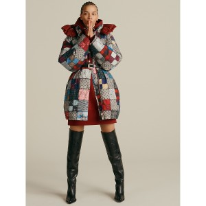 Hilfiger Collection Patchwork Recycled Down Parka