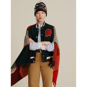 Hilfiger Collection Varsity Blanket Jacket
