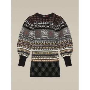 Hilfiger Collection Metallic Intarsia Sweater