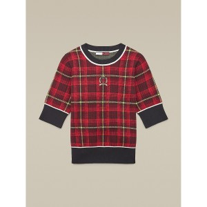 Hilfiger Collection Tartan Jacquard Sweater