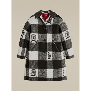 Hilfiger Collection Buffalo Check Car Coat