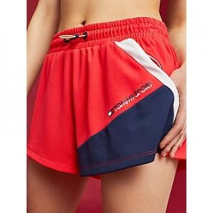 Mesh High-Waist Shorts