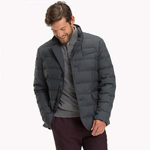 Wool Flannel Down Jacket