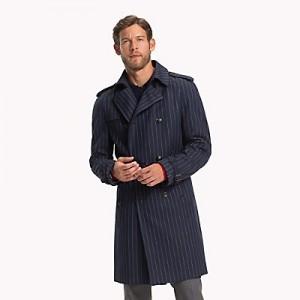 Virgin Wool Double-Breasted  Top Coat