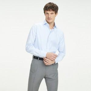 Cotton Dobby Regular Fit Dress Shirt