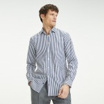 Stretch Cotton Slim Fit Dress Shirt