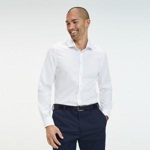 TH Flex Collar Slim Fit Dress Shirt