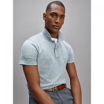 Slim Fit Textured Polo
