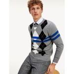 Mercerized Argyle Sweater