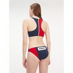 Colorblock Bikini Swim Bottom