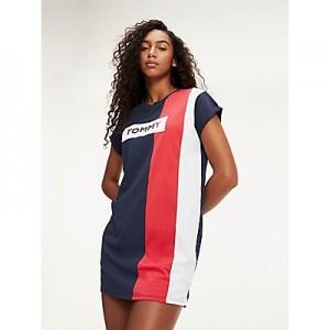 Colorblock T-Shirt Dress