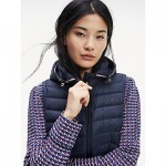 Packable Down Hooded Puffer Vest