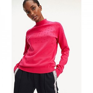 Organic Cotton Mockneck Sweater