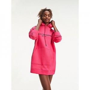 Logo Hoodie Dress