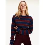 Icon Metallic Stripe Sweater