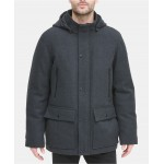 Mens Stadium Coat with Removable Hood, Created for Macys