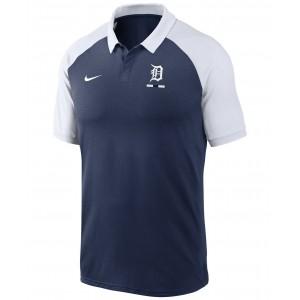 Detroit Tigers Mens Legacy Polo Shirt
