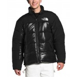 Mens Colorblocked Insulated Puffer Coat