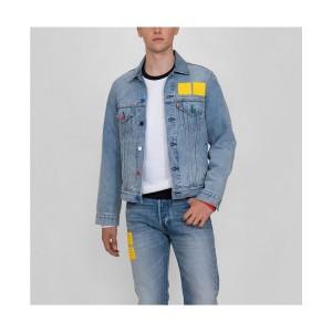 Mens Vintage-Like Fit Lego Trucker Jacket