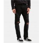 Levi's Flex Mens 512 Slim Taper Fit Ripped Jeans