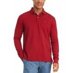 Mens Kent Long Sleeve Polo Shirt