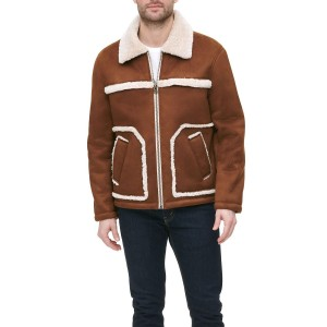 Mens Faux Shearling Ranchers Jacket, Created for Macys