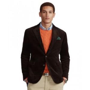 Mens Polo Soft Corduroy Suit Jacket