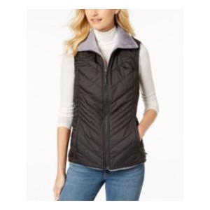 Womens Mossbud Insulated Water-Repellent Reversible Vest