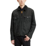 Mens Limited Collection Faux Sherpa Lined Trucker Jacket, Created for Macys