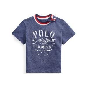 Ralph Lauren Baby Boys Cotton Jersey Graphic Tee