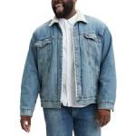 Mens Big & Tall Sherpa Trucker Jacket