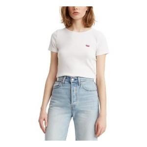 Honey Ribbed Logo T-Shirt