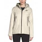 Womens Inlux Hooded Fleece-Lined Raincoat