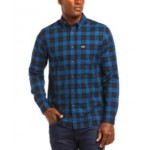 Mens Checked Pattern Cotton Twill Shirt