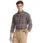 Mens Classic-Fit Madras Shirt
