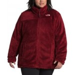 Womens Plus Size Mossbud Reversible Fleece Jacket