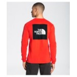Mens Long Sleeve Red Box Tee