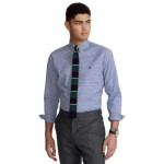 Mens Classic-Fit Gingham Oxford Shirt