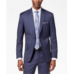Mens Modern-Fit Stretch Textured Suit Separates
