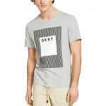 Mens Modern Box Logo Graphic T-Shirt