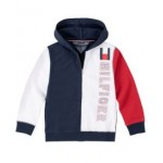 Toddler Boys Color-block Full Zip Hoodie