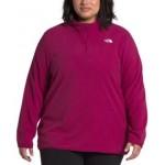 Womens Plus Size TKA Glacier Pullover Hoodie