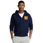 Mens Logo Double-Knit Hoodie
