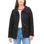 Womens Hooded Military Jacket