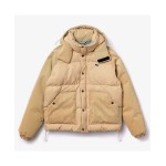 Mens LIVE Canvas and Corduroy Padded Jacket