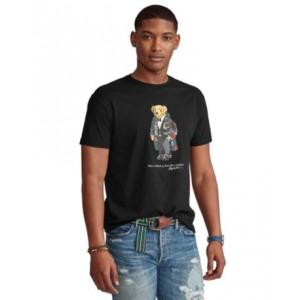 Mens Classic-Fit Holiday Bear T-Shirt